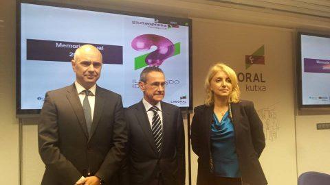 Ayer se presentó la memoria anual: 462 empresas creadas en 2014 de la mano de Gaztenpresa