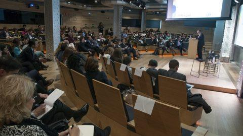 Gaztenpresa  YBSren  mentoring-programaren  Madrileko  aurkezpenean