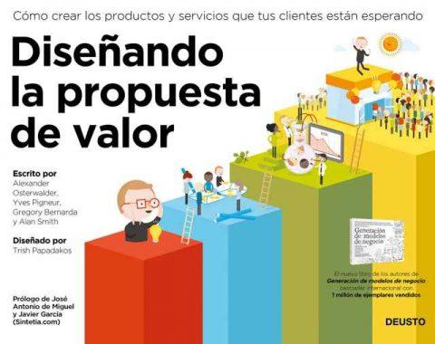 Lectura recomendada para emprendedores: Diseñando la propuesta de valor de Alexander Osterwalder, Yves Pigneur, Alan Smith y Gregory Bernarda