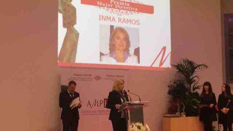 AMPEA  otorga este año a Inma Ramos el premio a la mejor Mujer Directiva 2015