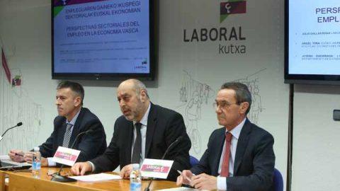 """Informe """"Perspectivas Sectoriales del Empleo en la Economía Vasca"""" del Departamento de Estudios de Laboral Kutxa"""