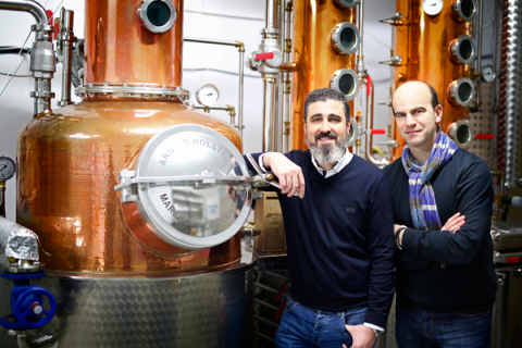 "Basque Moonshiners, ""made in Araba"" patata-vodka"