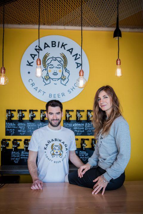 Kañabikaña, un nuevo concepto de tienda de cerveza traído de Moscú