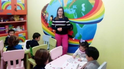 Tamara Pinto: «lanpostu finkoa utzi nuen neure ametsa gauzatzeko: Mundo Idiomas»