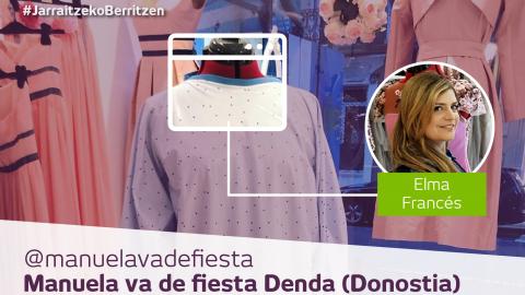 Manuela  va  de  fiesta:  goi-mailako  jantzigintza  babes-mantalak  egiteko  egokitua